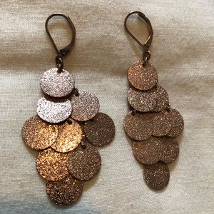 Jewelry - Rose Gold Dangling Earrings